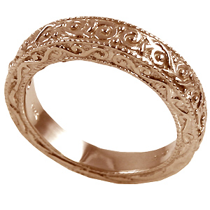 14k Rose Gold CZ Jewelry Cubic Zirconia Jewelry CZ Rings in 14k