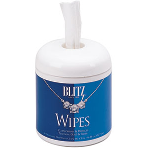 Blitz® Disposable Jewelry Wipes - Product Image