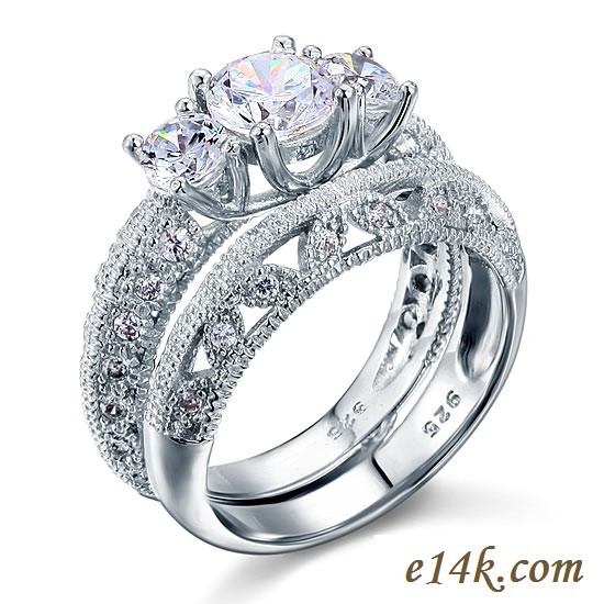 deco circa rings diamond filigree ring art white solitaire gold filligree engagement sapphire