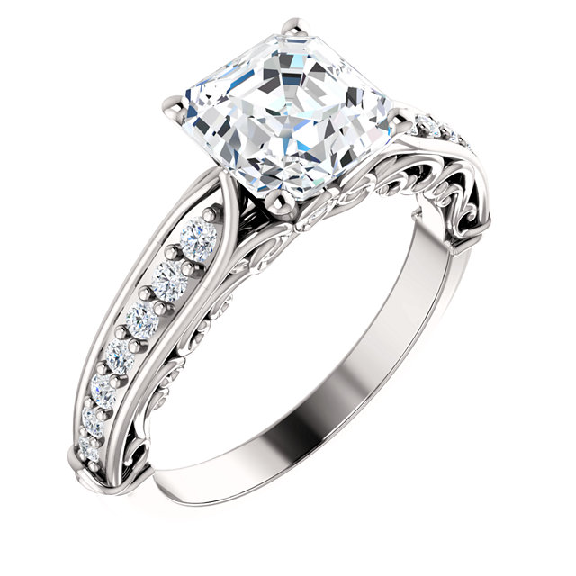 122065 Diamontrigue Jewelry: Antique Engagement Rings, Wedding Bands And Jewelry In 14k