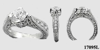 antique wedding rings, antique engagement ring