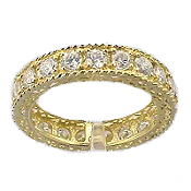 antique eternity band