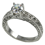 engagement antique rings