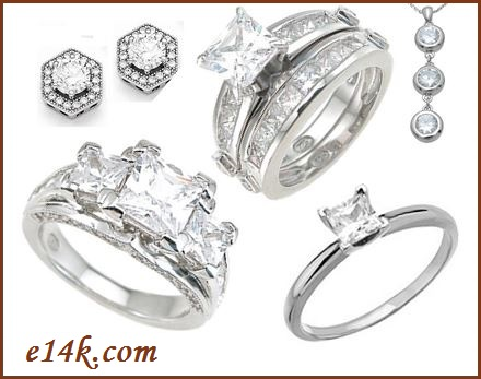 Sterling Silver CZ Jewelry