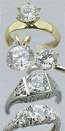 moissanite gemstones,moissanite jewelry, 14k gold, white gold, platinum