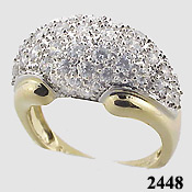 Pave Dome Ring - Product Image